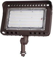 Luce di inondazione esterna del LED con Nocca, 100W (1000W Eqv.) 11,000lm Super Bright, ETL Listed DLC Wall Washer luce di sicurezza, CRI90 +, IP65