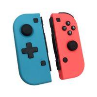 Nintendo 스위치를위한 무선 블루투스 프로 게임 패드 컨트롤러 무선 핸들 조리 - 콘 오른쪽 및 오른쪽 핸들 스위치 오른쪽 핸들