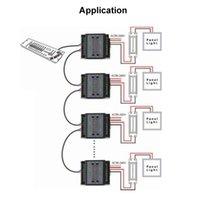 Dmx freeshipping conductor de LED de salida 3 canales DMX dimmer triac dimmer para 220v lámpara LED