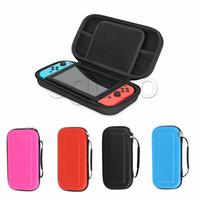 Vente chaude pour Nintendo Switch Sac de jeu Port Case Hard Eva Shell Haute Qualité Portable Portable Portable Sac Pochette Pochette Sac