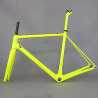 2019 Fluorescent yellow fm066 carbon frame new T1000 Full Ca...