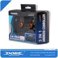 En Kaliteli DoBe Ti - 501 3 in 1 Kablosuz Çok Fonksiyonlu Denetleyici Klavye Tuş Takımı Mouse TouchPad Android Akıllı TV / PAD / PC