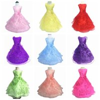 Kids Designer Clothes Flower Girls Dresses Embroidered Party...