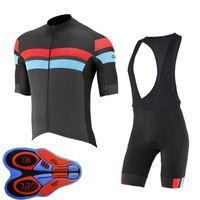 Erkekler Capo Takımı Bisiklet Jersey 2021 Yaz Kısa Kollu Gömlek / Önlüğü Şort Set Maillot Ciclismo Bisiklet Kıyafetler Hızlı Kuru Bisiklet Giyim Y210324