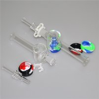 10mm 14mm Nectar Collector Kit Come with quartz Nail Silicon...
