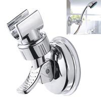 Duschkopf Halterung Halter Badezimmer Saugnapf Wand einstellbar Leistungsstarke Halterung Basis Badezimmer Accorie