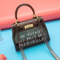 Jelly Bag 2020 New Fashion Transparent Handbag Shoulder Mess...