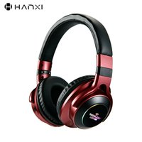 LED Light Wireless Bluetooth Headphones 3D Stereo Earphone W...