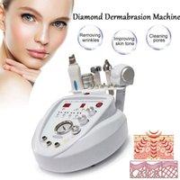 5 in1 Diamante Peeling dermoabrasão do purificador da pele de microcorrentes Face Lift máquina Facial Care Equipment Salon para Personal