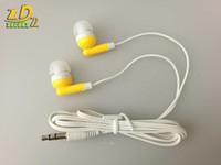 أرخص جديد في الأذن سماعة 3.5mm ياربود سماعة ل MP3 MP4 الهاتف Moible 500pcs