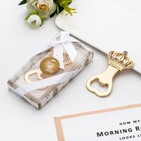 European gift fashion creative rose gold crown beer bottle o...