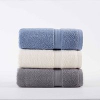 100% Cotton Solid Bath Towel Beach Towel For Adults Fast Dry...