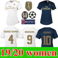 2019 Women 7 HAZARD Maillot Real madrid soccer Jerseys home ...
