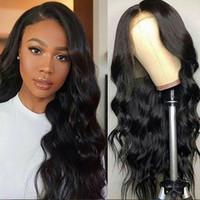 Remy capelli umani merletto pieno parrucche peruviano malese indiano cambogiano corpo onda ondulato glueless anteriore parrucche per Black Woman