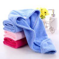 Duschhauben für Magic Quick Dry Haar Mikrofaser Handtuch Trocknen Turban Wrap Hut Caps Spa Badekappen EEA1337
