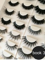 Wholesale popular gift new style hot sale 16 pairs 3d mink h...