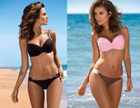 인기있는 플러스 큰 여성의 비키니 수영복 하이 웨이스트의 해변 수영복 수영복 섹시한 유연하고 세련된 삼각형 섹시한 디자인 수영복 설정