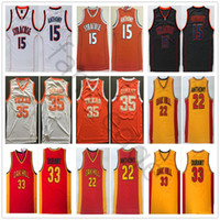 NCAA Syracuse Orange Carmelo # 15 Anthony Oak Hill High School 22 Anthony 33 Durant Texas Longhorns Kevin 35 Durant College Basketball Jersey