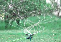 Novo Pátio 13 * 13 * 23 cm ABS Gramado Sprinkler Automático de 360 Rotação Da Água Do Jardim Aspersores de Irrigação Do Gramado