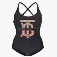 14f09eda764 Wholesale designer swimwear resale online - Fashion Swimsuit Bikinis One  piece Womens Brand Bikini Luxury One