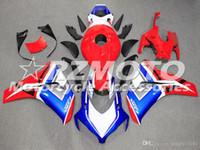 Caliente molde de inyección ventas ABS carenados de la motocicleta kits aptos para Honda CBR1000RR 2008 2009 2010 2011 1000RR 2008-2011 establece la carrocería Azul Rojo