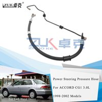 ZUK de alta calidad eléctrica de dirección de alimentación de presión de la manguera para HONDA ACCORD 3.0L CG1 1998 1999 2000 2001 2002 Para Left Hand Drive Coches