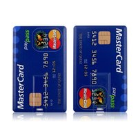 USB 플래시 드라이브 고속 은행 신용 카드 펜 드라이브 4GB 8GB 16GB Pendrive 32GB 64GB 메모리 USB 스틱 플래시 드라이브 128GB