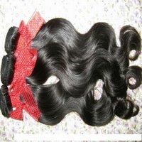 H 4PCS LOT Натуральный необработанный сырой филиппинской волна тела волосы девственницы человеческие волосы плетение пучек еженедельные продажи