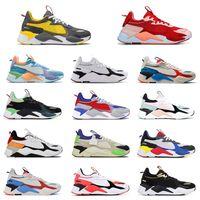 PUMA RS-X Reinvenção Brinquedos Designer sapatos de luxo Sneakers Running Shoes Bumblebee Optimus Prime para mulheres dos homens Tamanho 36-45