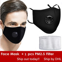 Free DHL Reused Face Masks Anti- Dust Smoke Outdoor Indoor Ad...