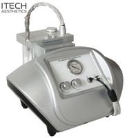 T12 Portable en cristal de diamant microdermabrasion machine avec de la poudre de cristaux pour la peau du visage Derma Peel Peeling dermabrasion Rejunvention