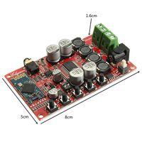 Freeshipping TDA7492P 50W + 50W Inalámbrico 4.0 de audio Tablero del amplificador digital con estuche Módulo de circuitos integrados