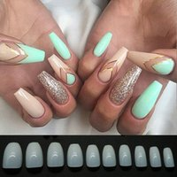 500pcs Lot Fake Nails Press On Girls Finger Beauty False Nai...
