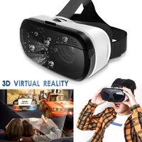 العالمي VR سماعة نظارات غوغل الرئيسية 3.5-6.0inch الهاتف الذكي مجهر أشرطة فيديو 360 درجة 1080P الروبوت الهاتف لعبة 3D