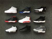 3bdca9a3672515 Alta qualidade crianças shoes 12.5 criança tênis de basquete 12.5 xiii  preto crianças meninos meninas running