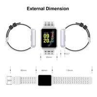N88 Relógio Inteligente Pressão Arterial Monitor da Frequência Cardíaca Pulseira Inteligente Localizador IP68 Relógio De Pulso Inteligente À Prova de Água Para IOS Android iPhone