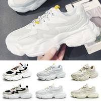 Ayakkabı Koşu İyi Erkek Siyah beyaz Moda Creepers baba Yüksek Kalite Erkekler Kadınlar Sneakers 39-44 Trainer spor Koşu Soğuk