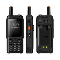 Uniwa Alpen F40 Zello Walkie Talkie 4G Mobiele Telefoon IP65 Waterdicht Rugged Smartphone MTK6737M Quad Core Android Feature Phone