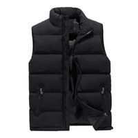 Mens Fashion Vest Coats Slim Thick Warm Winter Outerwear Bod...