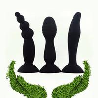 Masturbateur Anal Dildo Perles Butt Plug Stopper G-Spot Stimulation Anal Sex Toys Pour Femmes Produits Pour Adultes