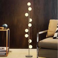 Moderne Home Deco Beleuchtungsvorrichtungen Nordische Lichter LED Wohnzimmer Stehende Leuchten Nachtsbeleuchtung Schlafzimmer Ball Stehleuchten Lichter