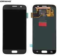 ORIWHIZ New Test Original Display LCD com tela de toque Assembléia digitador para Samsung Galaxy S7 G930 G930A G930F