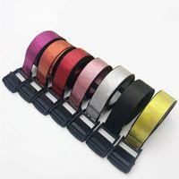 Novas Belts Homens e Mulheres Canvas cintura ajustável Unisex Strap Longo Moda cinto para senhoras e homens Drop Shipping