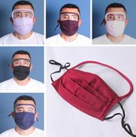 2 في 1 الوجه الدرع قناع الشاشة البلاستيكية حماية الوجه الكامل عزل قناع المضادة للضباب النفط واقية قناع درع قابل للغسل