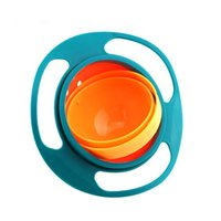 Baby Gyro Bowl 360 Dgree Rotation Spill Resistant Gyroscopic...