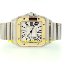 3 Style Men's Watch 100 XL steel and 18k yellow Gold Bracelet Automatic Men's Watch W200728G Mens Sport Wrist Watches