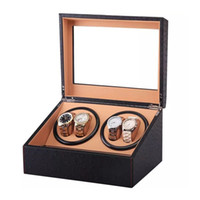 New US EU AU UK Plug 4+ 6 Automatic Mechanical Watch Winder H...