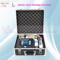 Gelenler Taşınabilir Shockwave Tedavisi Tıbbi Ekipmanları ED Tedavi Extracorporeal Şok Dalga Terapisi Makinesi için Shockwave