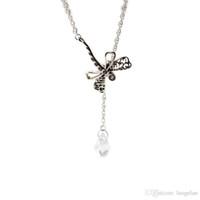 Pandora takı ile uyumlu 925 Ayar Gümüş Rüya Yusufçuk Kolye Kadınlar Için Orijinal Moda Kolye Charms Takı