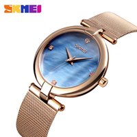 SKMEI Relogio Brand 9177 Watch Women Fashion Luxury Rose Gol...
